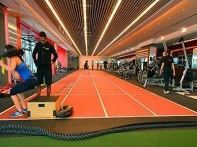 Decoflex and Neoflex fitness flooring