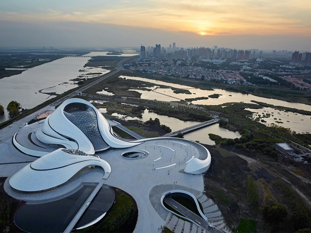 Harbin Cultural Centre in China by Ma Yansong. Image: MAD Architects