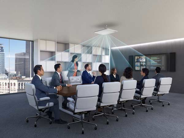 Microflex Advance Ceiling Array captures best-in-class audio from above the meeting space