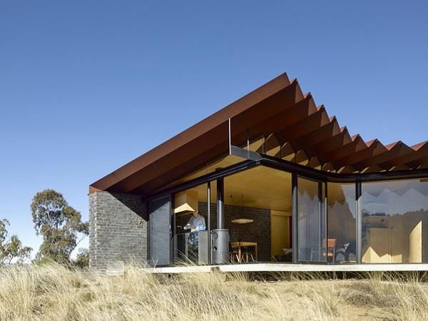bellbird retreat house exterior view
