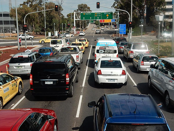 Flexible working traffic congestion Melbourne