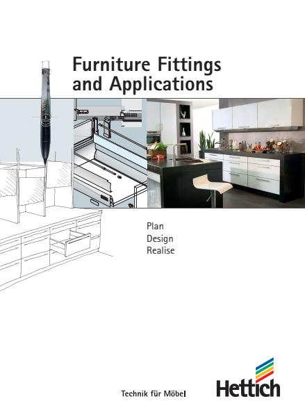 Furniture Fittings and Applications Brochure