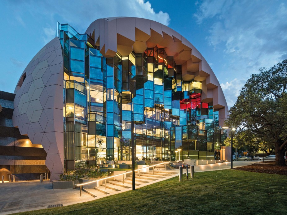 The Zelman Cowen award for Public Architecture was won by ARM Architecture for the Geelong Library Centre. Photography by John Gollings