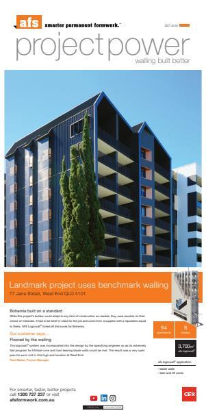 AFS Rediwall PVC permanent formwork system | Architecture & Design