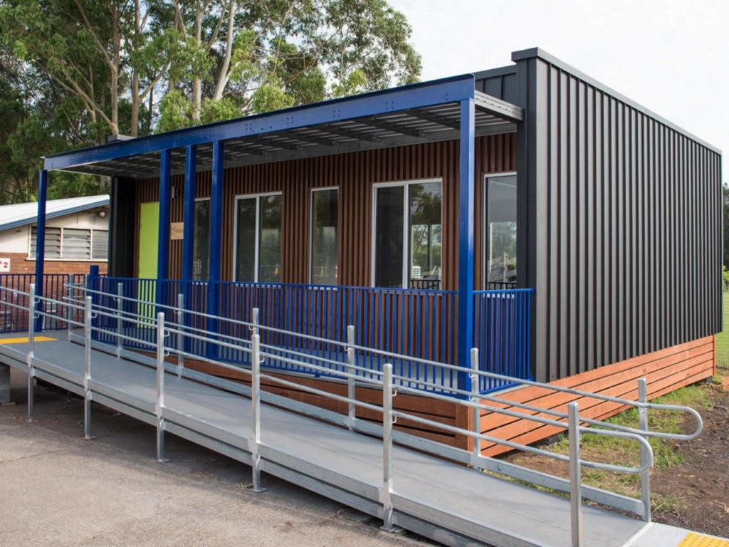 Two Hivve classrooms are being trialled at St Christopher's Catholic Primary School in Holsworthy and Dapto High School in Dapto. Image: Hivve Technology