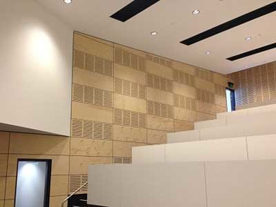 Ultraflex's timber veneer panels were installed at the Enoggera Army Barracks
