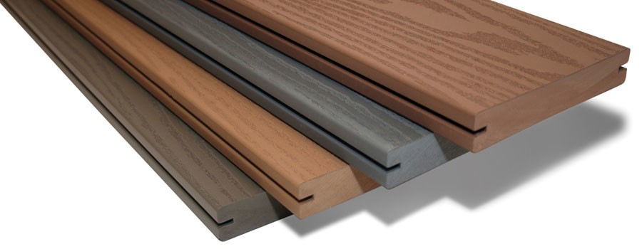 Decking alternatives a run down on wood plastic composite for Plastic decking boards