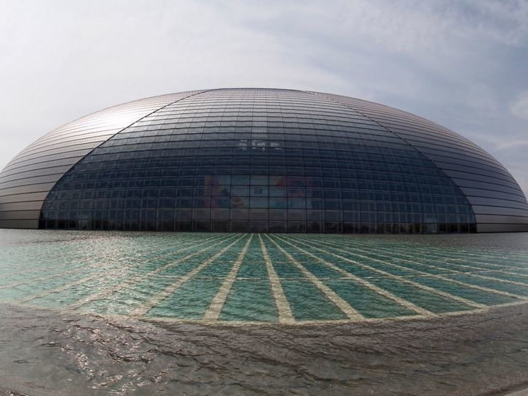 China's National Theatre. Mr.Yi.Zhao/Flickr, CC BY-NC