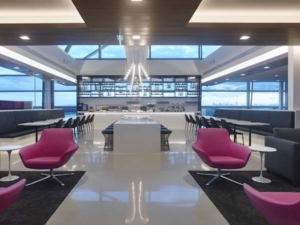 Air New Zealand Lounge at Brisbane airport