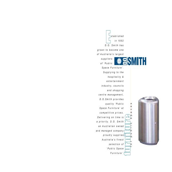 DO Smith and Sons Product Catalogue