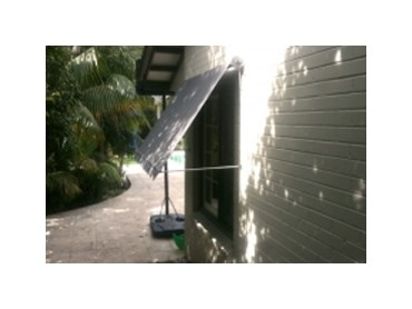 Manual and Motorised Drop Arm Awnings - Drop Arm Awnings