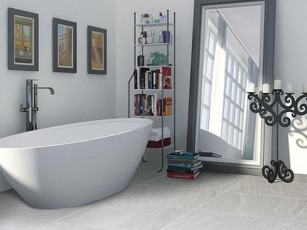 Bathroom Floor Tiles 6 Best Options, Porcelain Tile Bathroom Floor Cost