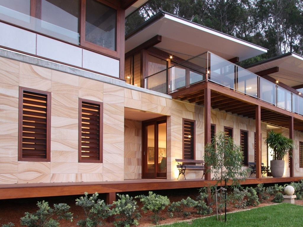 The Green Building Council of Australia (GBCA) has launched a new website called Living Green Star, to help home buyers find sustainable homes. Image: Gosford Quarries