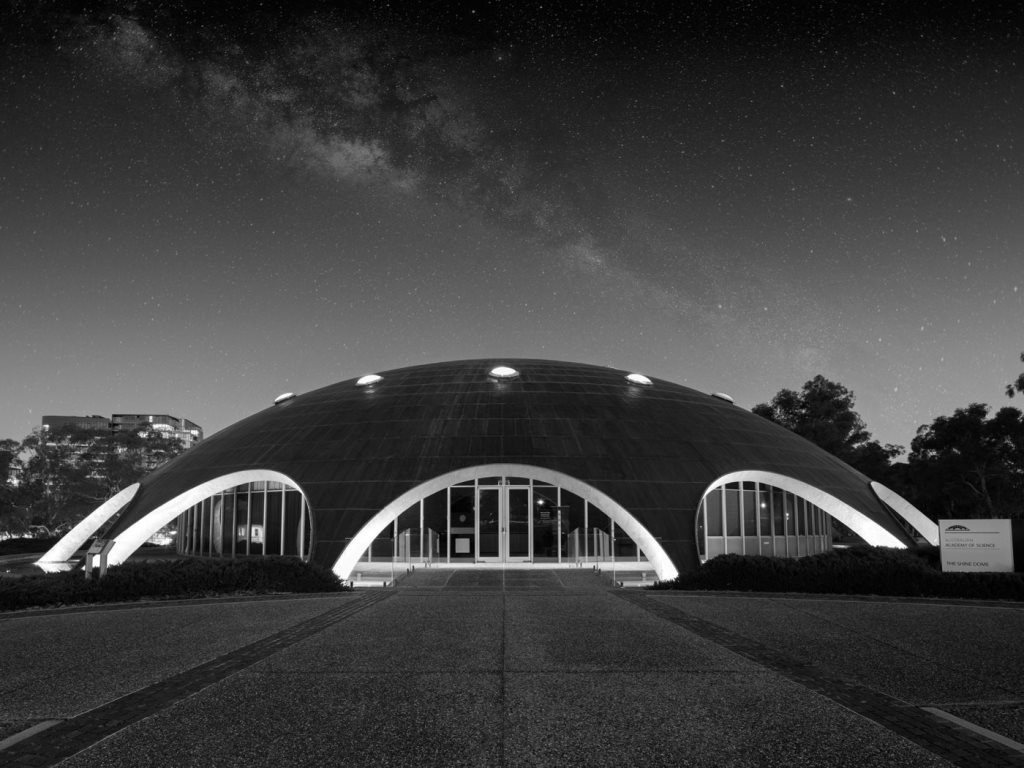 DESIGN Canberra 2017 will be hosting the inaugural national design writing conference at Roy Grounds' iconic 1959 Shine Dome. Image: DESIGN Canberra
