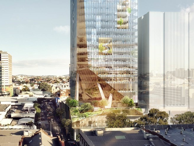 Bvn Brings Biophilia To Brisbane For New Fortitude Valley