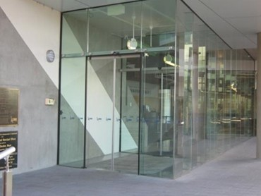 Ngu Model Frameless Glass Automatic Door From Adis