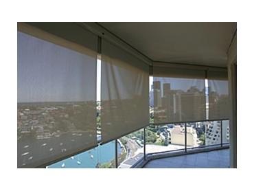 Luxaflex sunscreen straight drop awnings from Sunteca ...