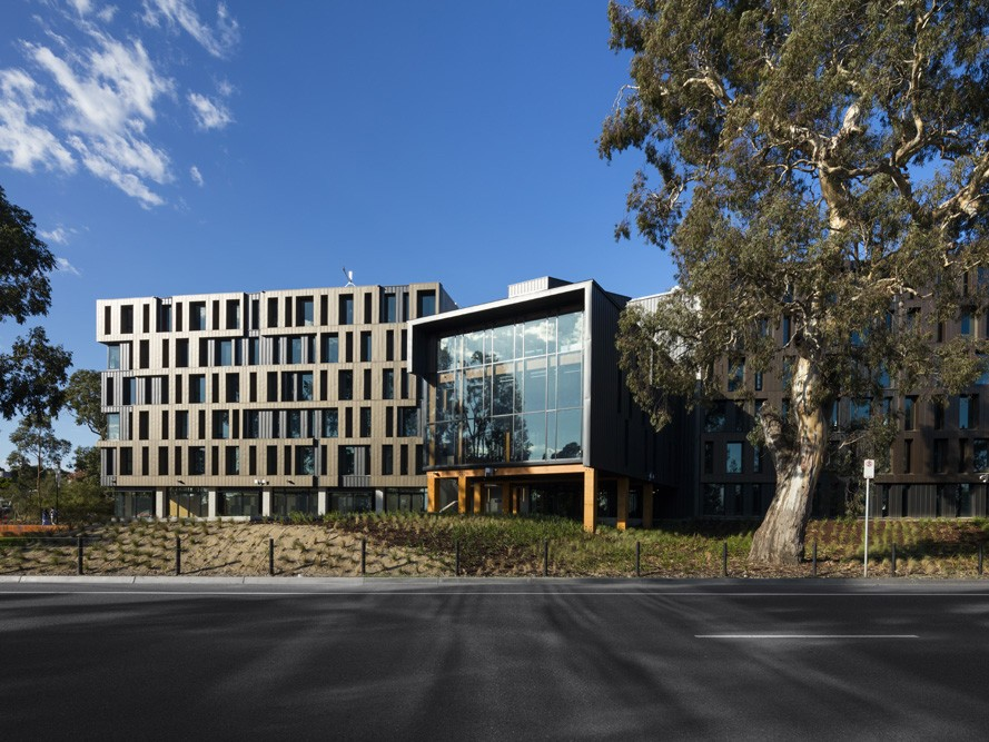 RMIT Bundoora West Student Accommodation, Walert House by Richard Middleton Architects
