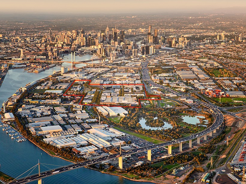 The Fishermans Bend urban renewal project is the largest of its kind in Australia, and is in fact, bigger larger than every other urban renewal project in Victoria combined. Image: www.fishermansbend.vic.gov.au