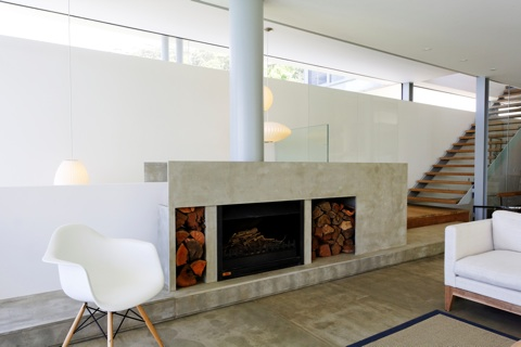Barestone Used In South Coast Home Architecture And Design