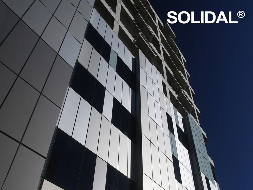 Solidal non combustible cladding