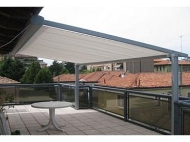 Retractable Folding Arm Awnings by Ozsun Shade Systems ...