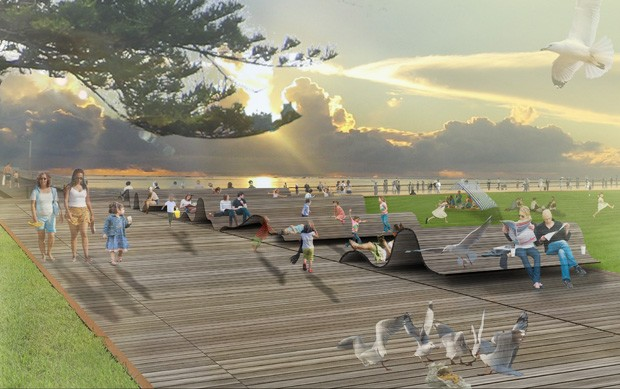 Tcl with troppo architects selected to redesign henley for Tcl landscape architects adelaide