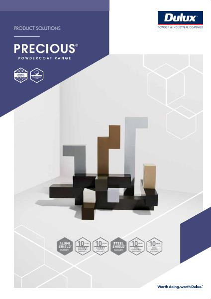 Dulux Powders Precious Product Solutions Brochure
