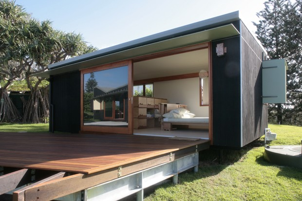 a model approach to housing 5 prefab homes in australia. Black Bedroom Furniture Sets. Home Design Ideas
