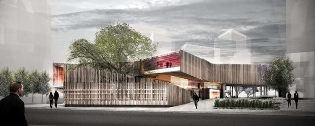 Australian architects dominate green square library design for Architecture firms adelaide