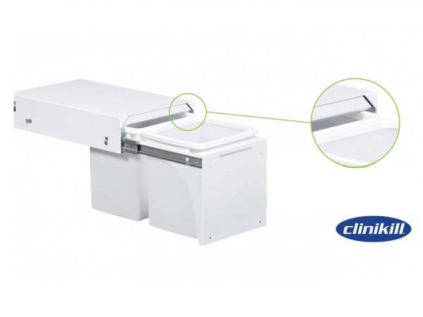Built-in Clinikill antimicrobial protection
