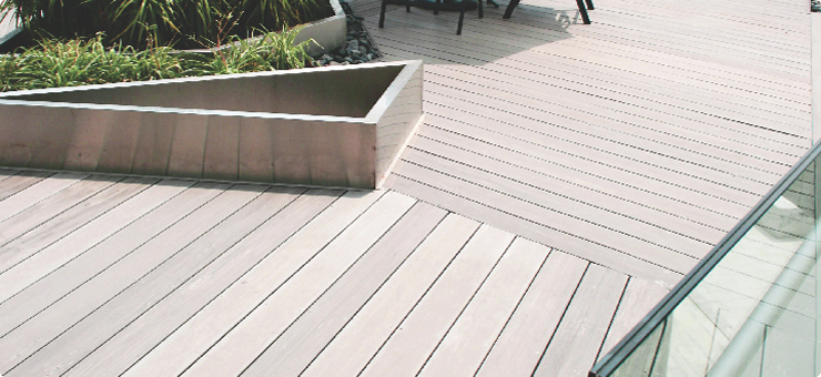 Composite and plastic decking product in review for Timber decking materials