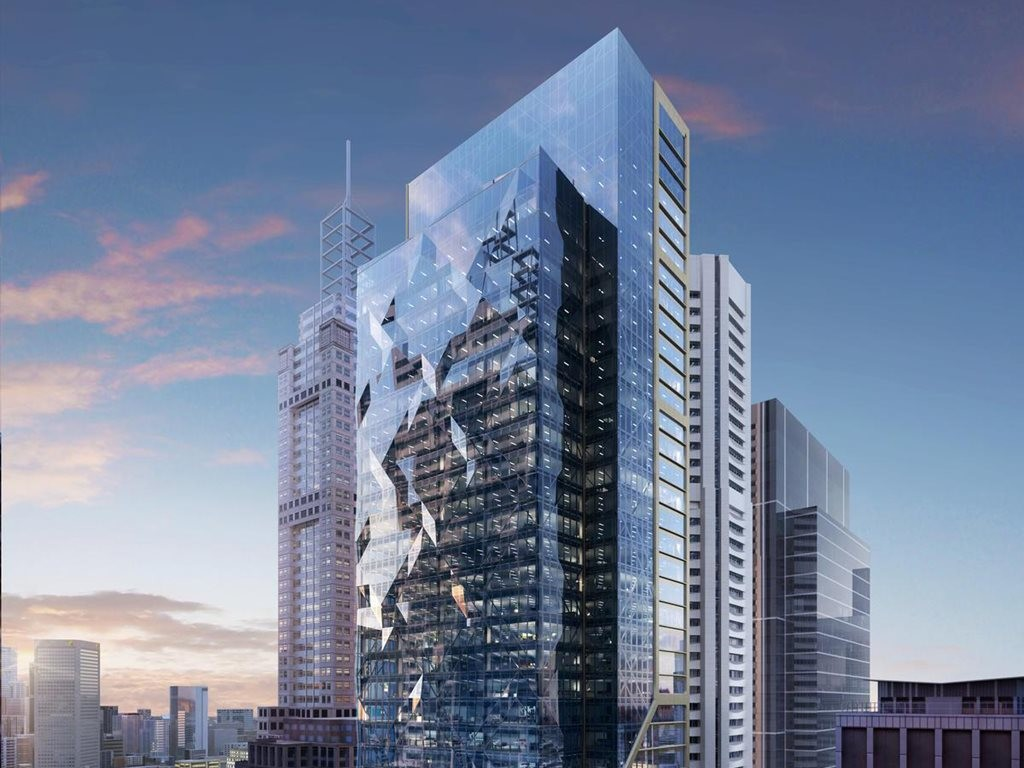 The $800-million mixed-use tower, dubbed 80 Collins, has been granted planning approval by the Victorian government. Image: QICGRE