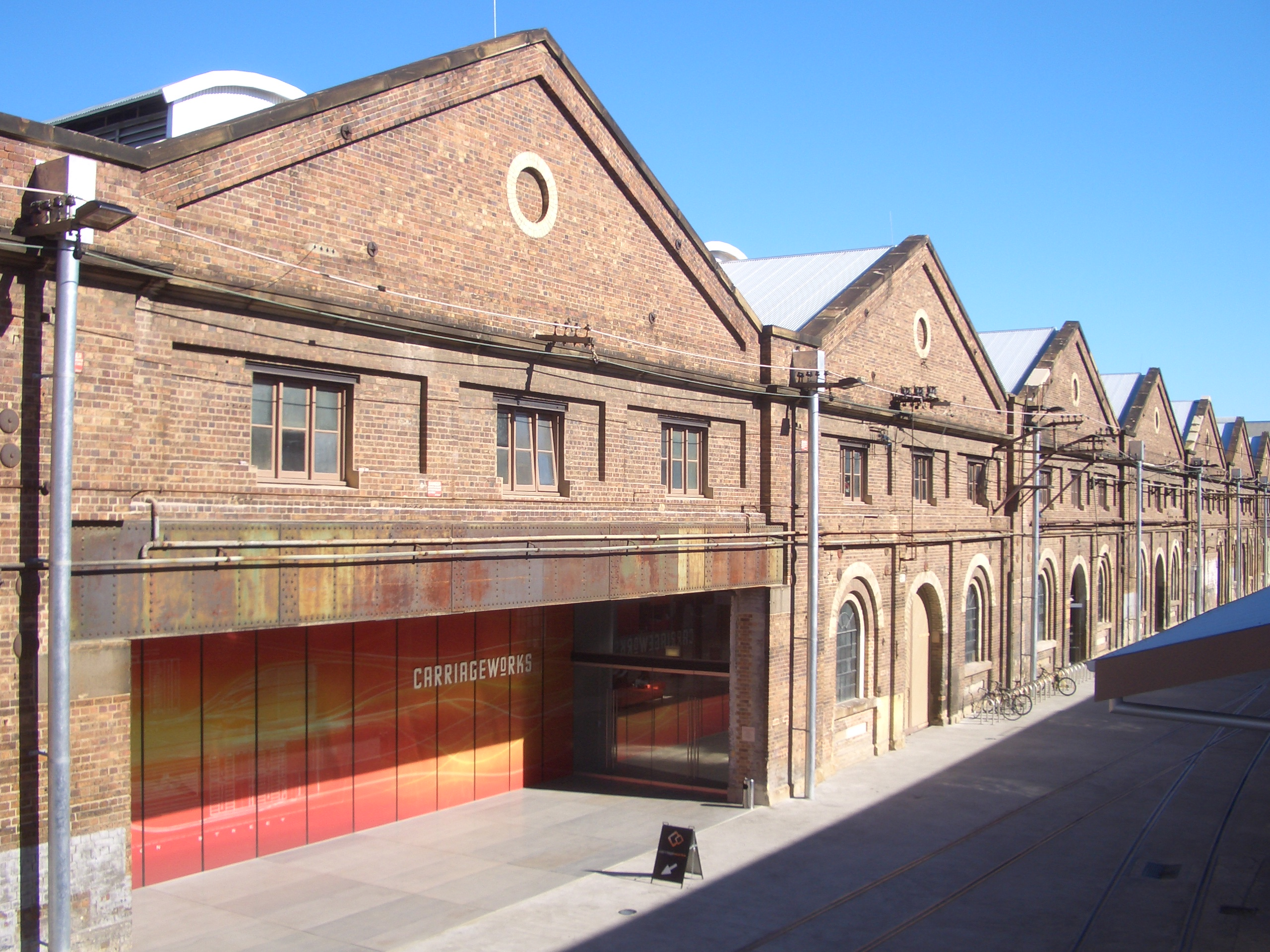 Carriageworks. Image: Wikimedia Commons