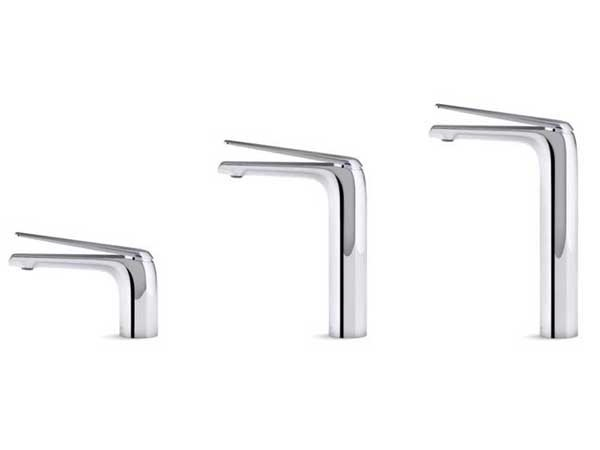 The Avid single lever basin mixer range includes Standard, Tall and Super Tall