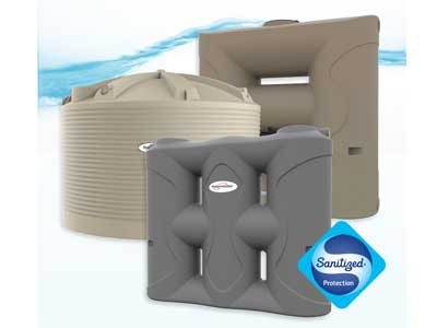 Waterguard rainwater tanks