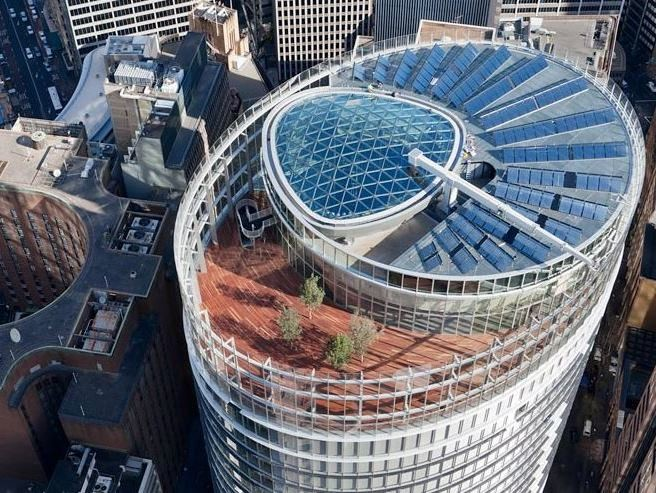 1 Bligh Street, Sydney by Architectus put paid to the naysayers who questioned whether a sustainable building could be beautiful, says Romilly Madew.