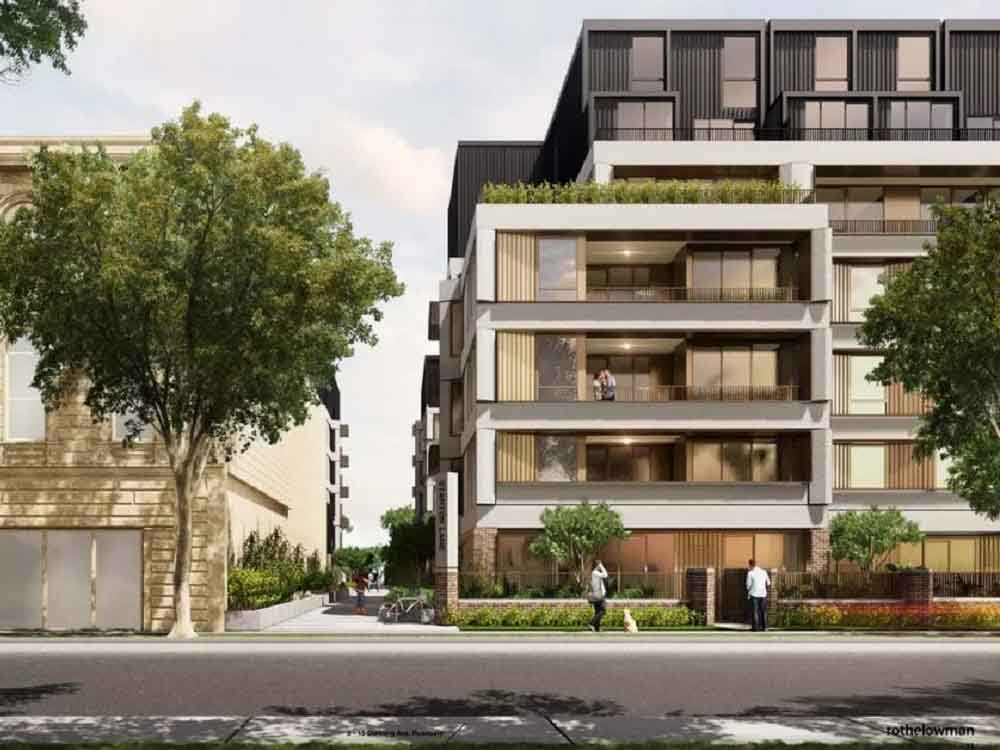 Rothelowman design Stockland apartments