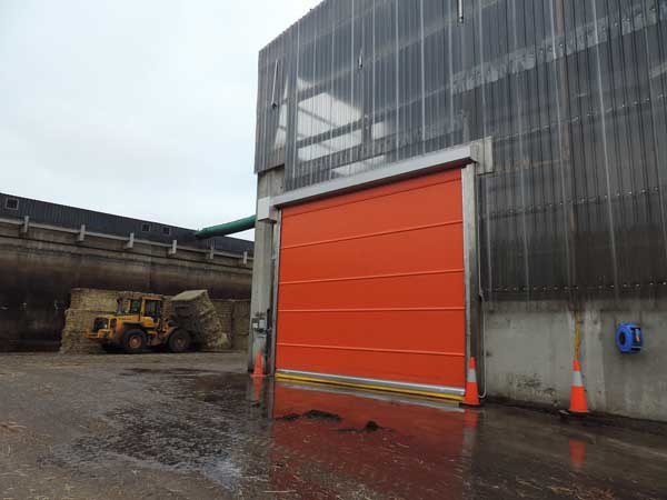 DMF's corrosion resistant high speed doors installed at Elf Farms