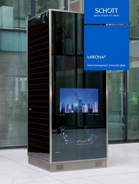 MIRONA® Semi-Transparent Mirrored Glass Product Brochure