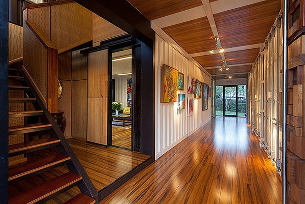 Shipping container mansion outperforms Queenslander and spec homes ...