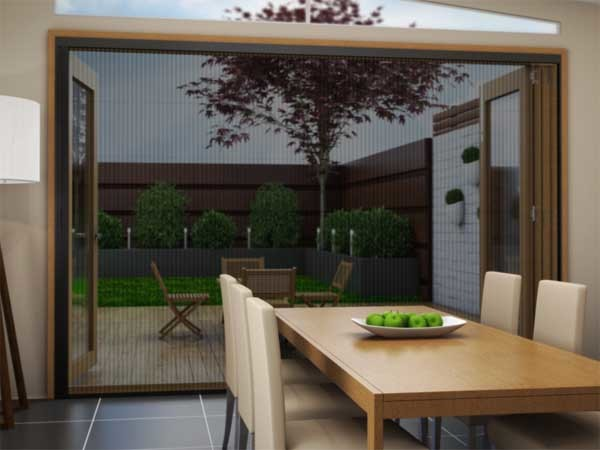 Brio's retractable pleated insect screens