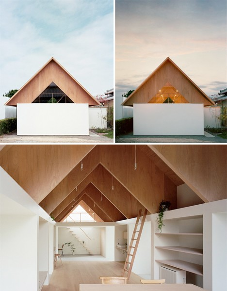 11 ways with plywood for every room and application for Modern japanese house interior design
