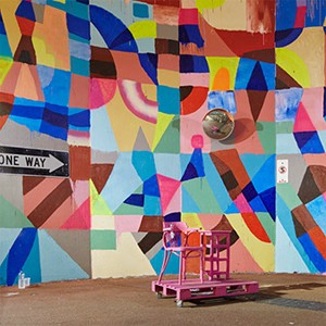 Living rooms created in Perth with 'Moving Lounges' installation