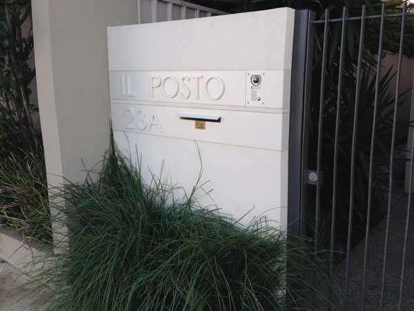 A custom letterbox from Adelaide Letterboxes