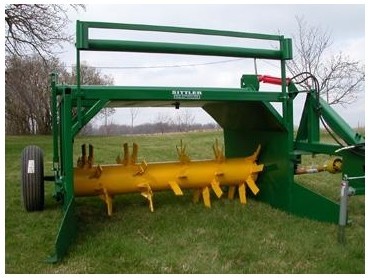 Sittler Compost Turner From Recycle Amp Composting Equipment
