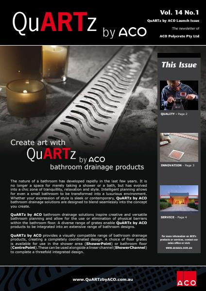 QuARTz by ACO Newsletter