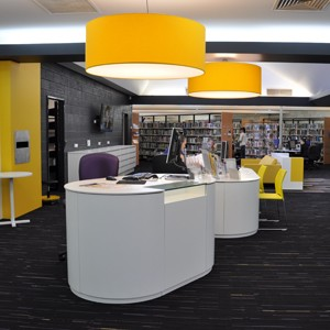 Melville Civic Square Library by CK Design International