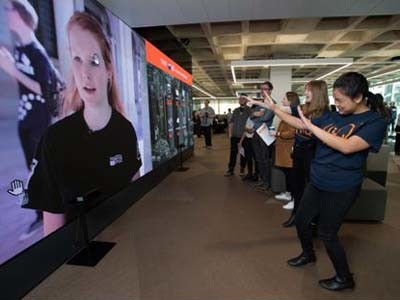 Ci installs giant interactive LED wall at QUT to digitally engage visitors | Architecture & Design
