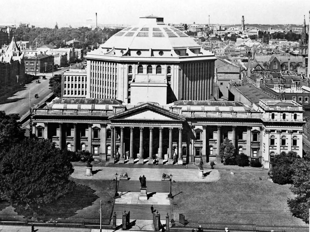 The State Library of Victoria designed by Joseph Reed. Image: Urban Melbourne/State Library of Victoria